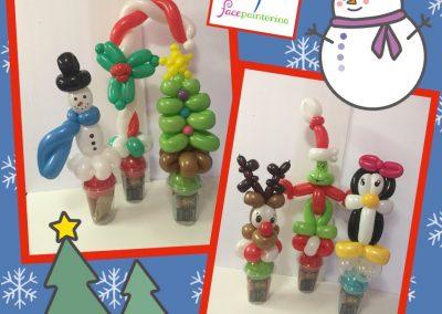 Christmas Balloon Cups