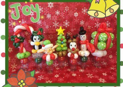 Balloon cups Christmas