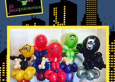 Superhero Balloon Cups