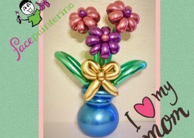 Chrome Balloon Flowers