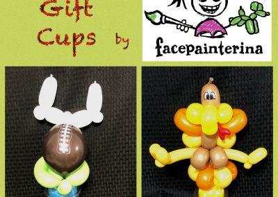 Thanksgiving Balloon Gift Cups